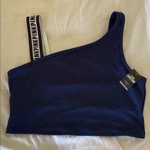 NWT vs pink logo sports bra size L